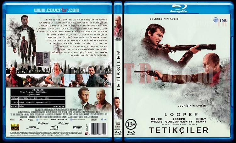 Looper (Tetikçiler) - Scan Bluray Cover - Türkçe [2012]-looper-tetikciler-scan-bluray-cover-turkce-2012jpg