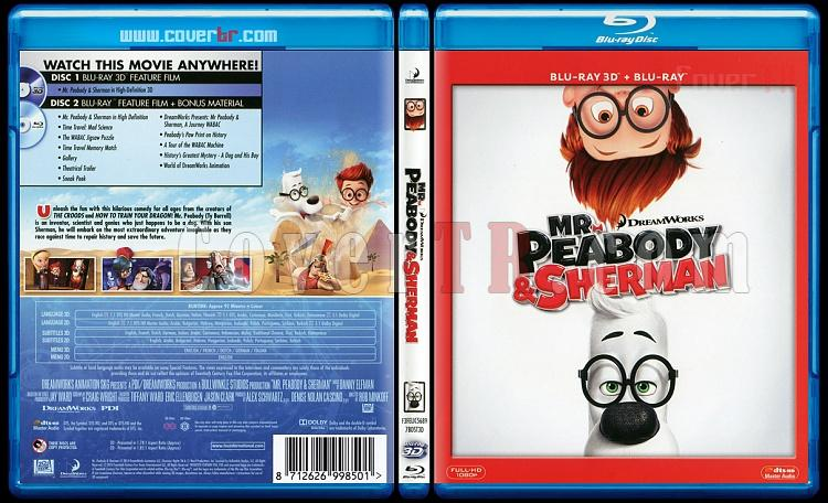 Mr. Peabody & Sherman - Scan Bluray Cover - English [2014]-mr-peabody-sherman-scan-bluray-cover-english-2014jpg