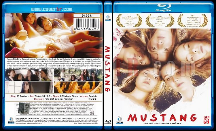 Mustang - Scan Bluray Cover - Türkçe [2015]-mustangjpg