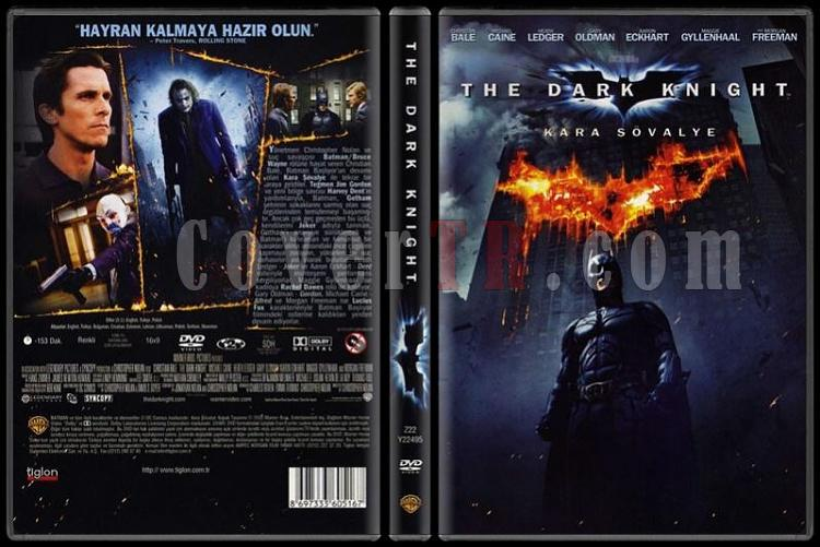 The Dark Knight (Kara Şövalye) - Scan Dvd Cover - Türkçe [2008]-kara-sovalye-dark-knight-dvd-coverjpg