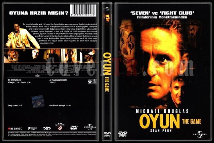 The Game (Oyun) - Dvd Cover - Türkçe [1997]-game-oyun-dvd-cover-turkcejpg