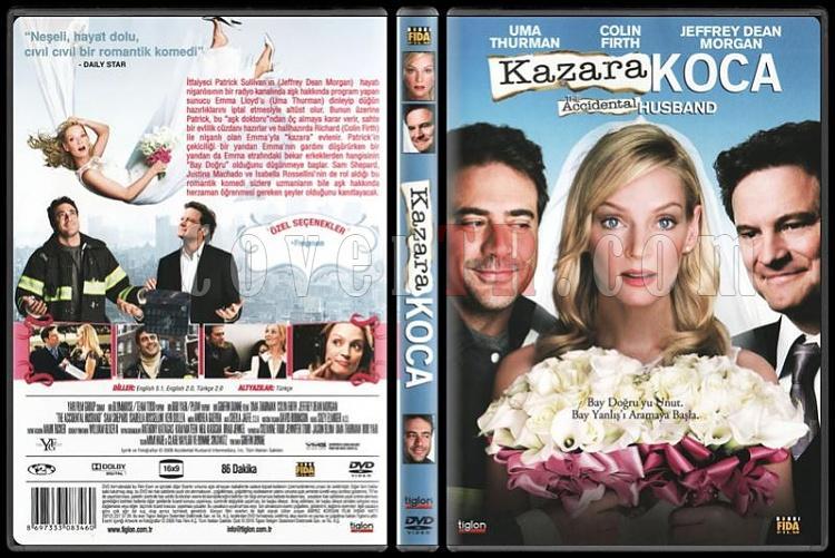 The Accidental Husband (Kazara Koca) - Scan Dvd Cover - Türkçe [2008]-kazarajpg