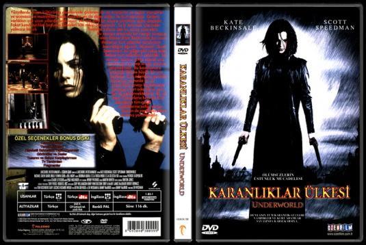 Underworld (Karanlıklar Ülkesi) - Scan Dvd Cover - Türkçe [2003]-underworldjpg