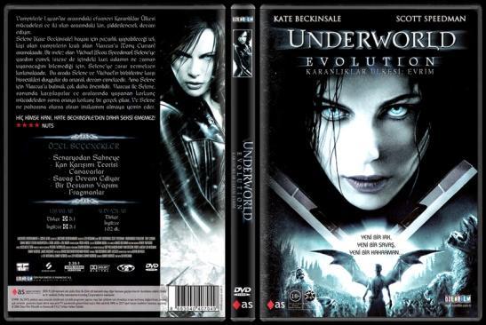 Underworld: Evolution (Karanlıklar Ülkesi: Evrim) - Scan Dvd Cover - Türkçe [2006]-underworld_evolutionjpg