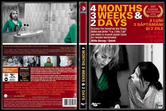 4 Months 3 Weeks & 2 Days (4 Ay, 3 Hafta, 2 Gün) - Scan Dvd Cover - Türkçe [2007]-4-months-3-weeks-2-days-scan-dvd-cover-turkce-2007jpg