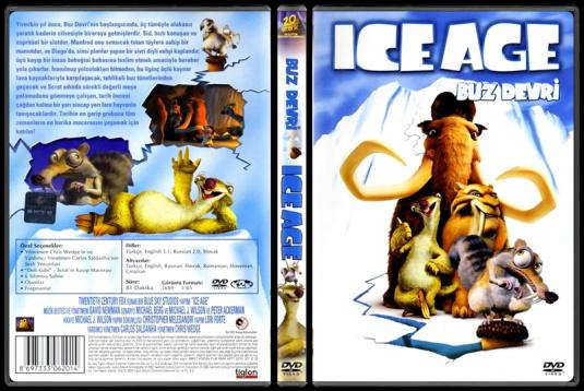 Ice Age (Buz Devri) - Scan Dvd Cover - Türkçe [2002]-ice-age-buz-devri-scan-dvd-cover-turkce-2002jpg