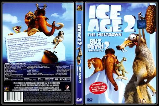 Ice Age The Meltdown (Buz Devri 2 Erime Başlıyor) - Scan Dvd Cover - Türkçe [2006]-ice-age-meltdown-buz-devri-2-erime-basliyor-scan-dvd-cover-turkce-2006jpg