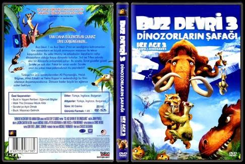 Ice Age Dawn of the Dinosaurs (Buz Devri 3 Dinozorların Şafağı) - Scan Dvd Cover - Türkçe [2009]-ice-age-dawn-dinosaurs-buz-devri-3-dinozorlarin-safagi-scan-dvd-cover-turkce-2009jpg