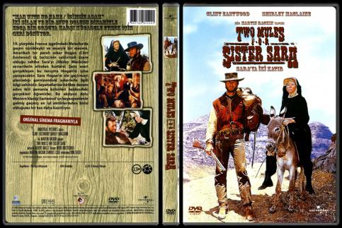 Two Mules For Sister Sara (Sara'ya İki Katır) - Scan Dvd Cover - Türkçe [1970]-tr_two_mules_for_sister_sarajpg