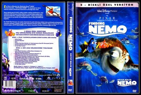 Finding Nemo - Kayıp Balık Nemo - Scan Dvd Cover - Türkçe [2003]-finding_nemojpg