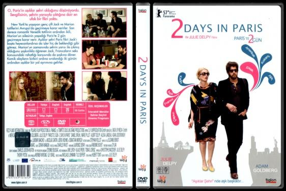 2 Days In Paris (Paris'te 2 Gün) - Scan Dvd Cover - Türkçe [2007]-2_days_in_parisjpg