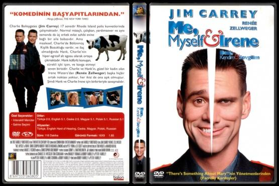 Me, Myself & Irene (Ben, Kendim ve Sevgilim) - Scan Dvd Cover - Türkçe [2000]-me_myself_and_irenejpg
