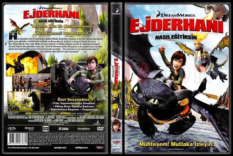 How to Train Your Dragon (Ejderhanı Nasıl Eğitirsin) - Scan Dvd Cover - Türkçe [2010]-how-train-your-dragon-ejderhani-nasil-egitirsin-scan-dvd-cover-turkce-2010jpg