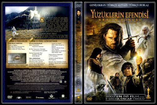 The Lord of the Rings: The Return of the King - Scan Dvd Cover - Türkçe [2003]-lord-rings-return-king-scan-dvd-cover-turkce-2003jpg