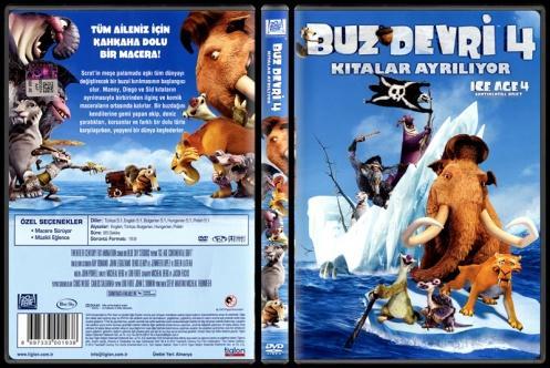 Ice Age 4: Continental Drift (Buz Devri 4: Kıtalar Ayrılıyor) - Scan Dvd Cover - Türkçe [2012]-ice-age-4-continental-drift-buz-devri-4-kitalar-ayriliyor-scan-dvd-cover-turkce-2012jpg