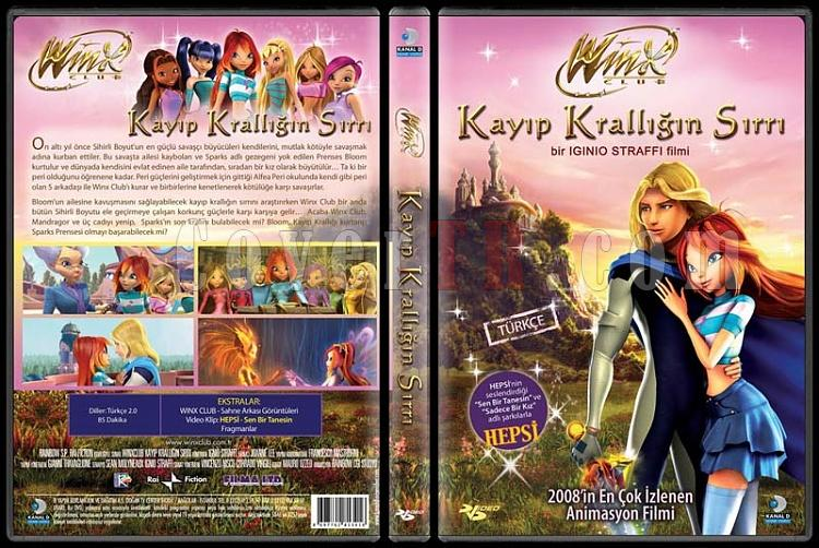 Winx Club: The Secret Of The Lost Kingdom (Winx Club: Kayıp Krallığın Sırrı) - Scan Dvd Cover - Türkçe [2008]-winx-club-secret-lost-kingdom-winx-club-kayip-kralligin-sirri-picjpg