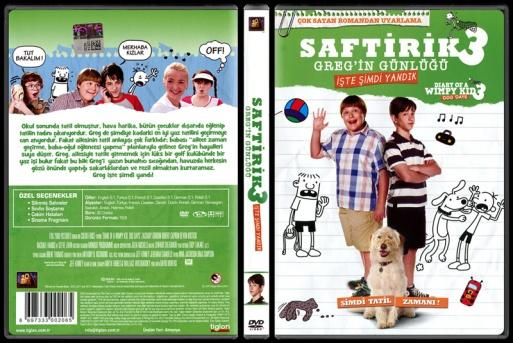 Diary Of A Wimpy Kid Dog Days (Saftirik 3) - Scan Dvd Cover - Türkçe [2012]-diary-wimpy-kid-dog-days-saftirik-3-scan-dvd-cover-turkce-2012jpg