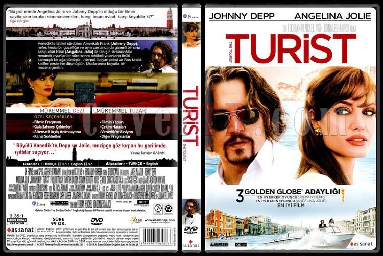 The Tourist (Turist) - Scan Dvd Cover - Türkçe [2010]-tourist-turist-scan-dvd-cover-turkce-2010jpg