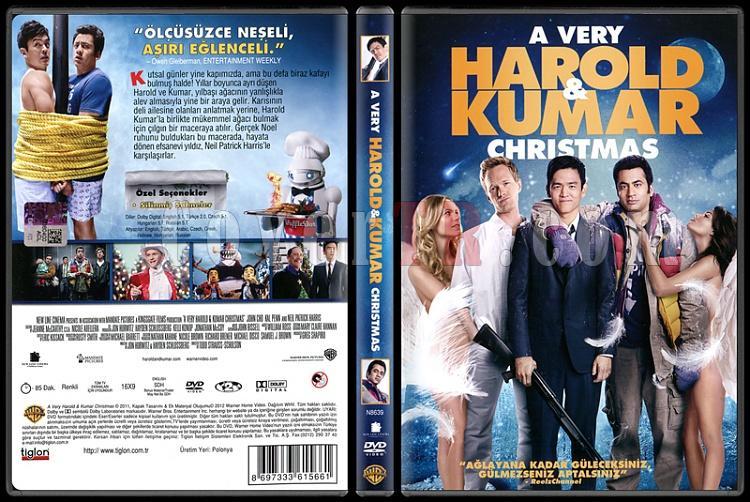 A Very Harold And Kumar Christmas - Scan Dvd Cover - Türkçe [2011]-very-harold-kumar-christmas-scan-dvd-cover-turkce-2011jpg
