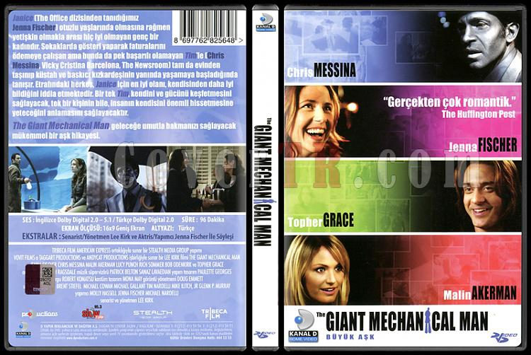 The Giant Mechanical Man - Scan Dvd Cover - Türkçe [2012]-giant-mechanical-man-scan-dvd-cover-turkce-2012jpg