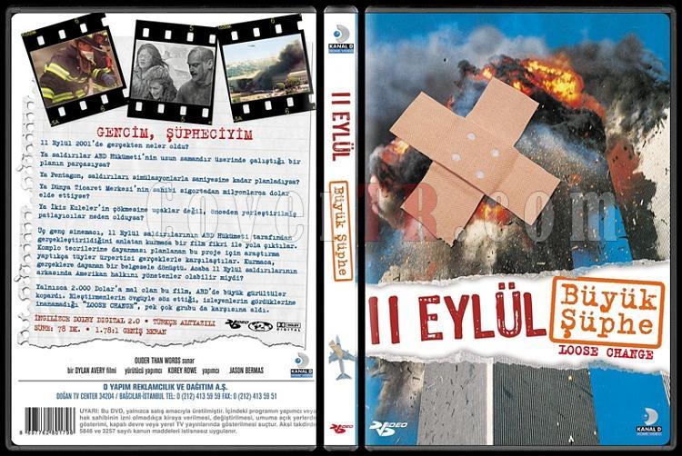 Loose Change (11 Eylül: Büyük Şüphe) - Scan Dvd Cover - Türkçe [2006]-1jpg