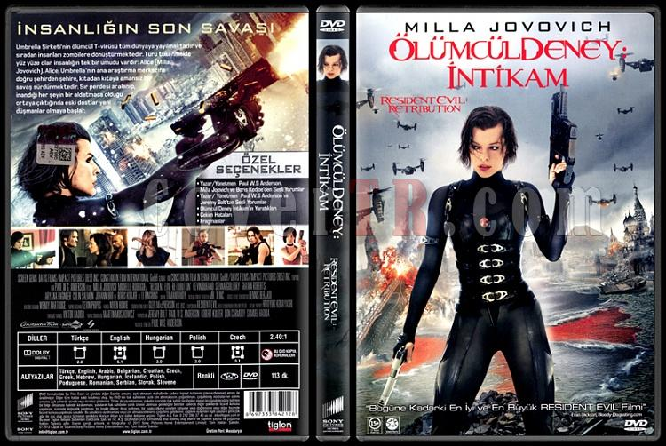 Resident Evil: Retribution (Resident Evil: İntikam) - Scan Dvd Cover - Türkçe [2012]-resident-evil-retribution-resident-evil-intikam-scan-dvd-cover-turkce-2012jpg