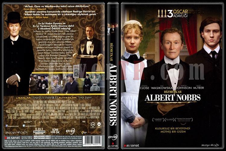 Albert Nobbs (Hizmetkar) - Scan Dvd Cover - Türkçe [2011]-albert-nobbs-hizmetkar-scan-dvd-cover-turkce-2011jpg