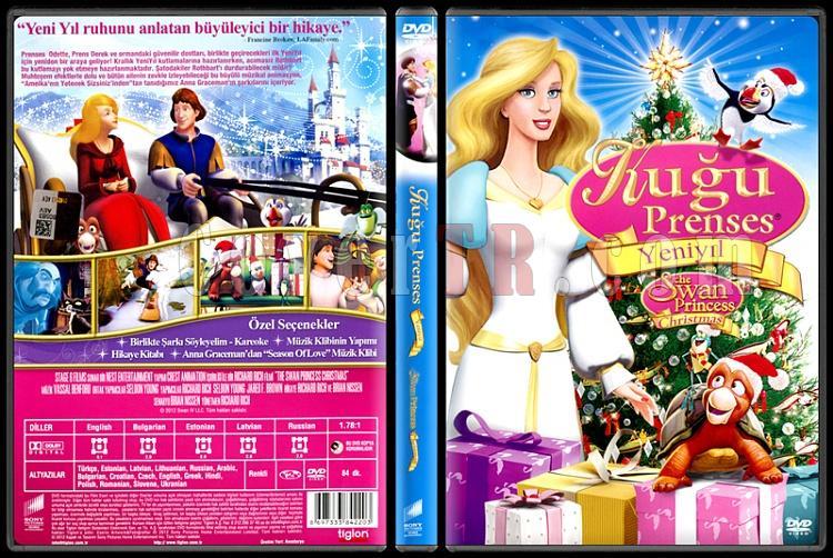 The Swan Princess Christmas (Kuğu Prenses Yeni Bir Yıl Macerası) - Scan Dvd Cover - Türkçe [2012]-swan-princess-christmas-kugu-prenses-yeni-bir-yil-macerasi-scan-dvd-cover-turkce-2012jpg