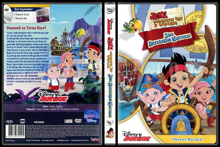 Jake And The Neverland Pirates (Jake ve Varolmayan Ülkenin Korsanları) - Scan Dvd Cover - Türkçe [2011]-jake-neverland-pirates-jake-ve-varolmayan-ulkenin-korsanlari-scan-dvd-cover-turkcejpg