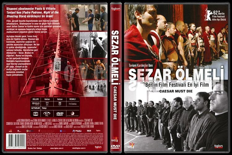 Caesar Must Die (Sezar Ölmeli) - Scan Dvd Cover - Türkçe [2012]-caesar-must-die-sezar-olmeli-scan-dvd-cover-turkce-2012jpg