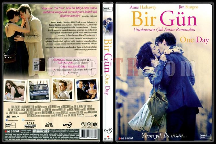 One Day (Bir Gün) - Scan Dvd Cover - Türkçe [2011]-one-day-bir-gun-scan-dvd-cover-turkce-2011jpg