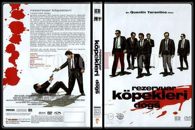 Reservoir Dogs (Rezervuar Köpekleri) - Scan Dvd Cover - Türkçe [1992]-10jpg