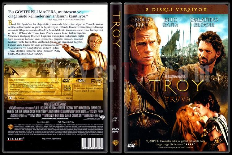 Troy (Truva) - Scan Dvd Cover - Türkçe [2004]-standardjpg
