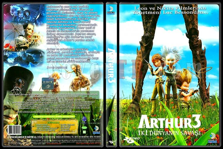 Arthur And The War Of The Two Worlds (Arthur İki Dünyanın Savaşı) - Scan Dvd Cover - Türkçe [2011]-arthur-war-two-worlds-arthur-iki-dunyanin-savasi-scan-dvd-cover-turkce-2011jpg