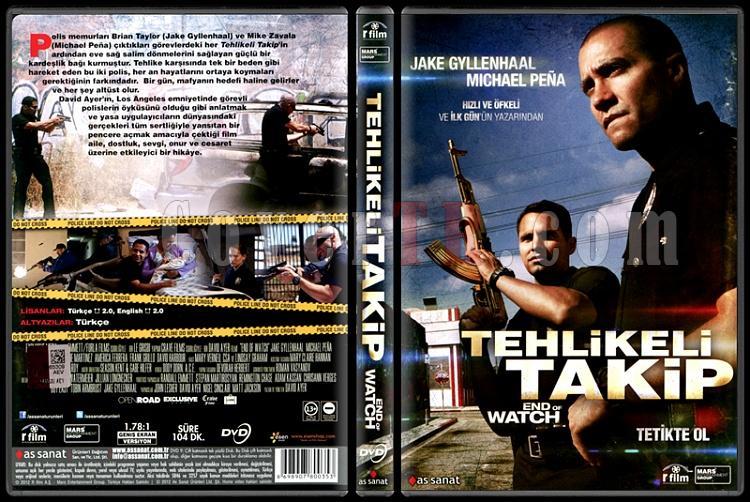 End Of Watch (Tehlikeli Takip) - Scan Dvd Cover - Türkçe [2012]-end-watch-tehlikeli-takip-scan-dvd-cover-turkce-2012jpg