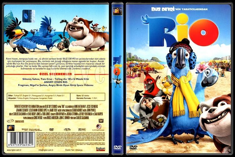 Rio - Scan Dvd Cover - Türkçe [2011]-riojpg