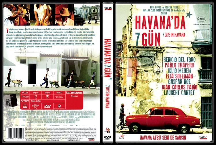 7 Days In Havana (Havana'da 7 Gün) - Scan Dvd Cover - Türkçe [2012]-7-days-havana-havanada-7-gun-scan-dvd-cover-turkce-2012jpg