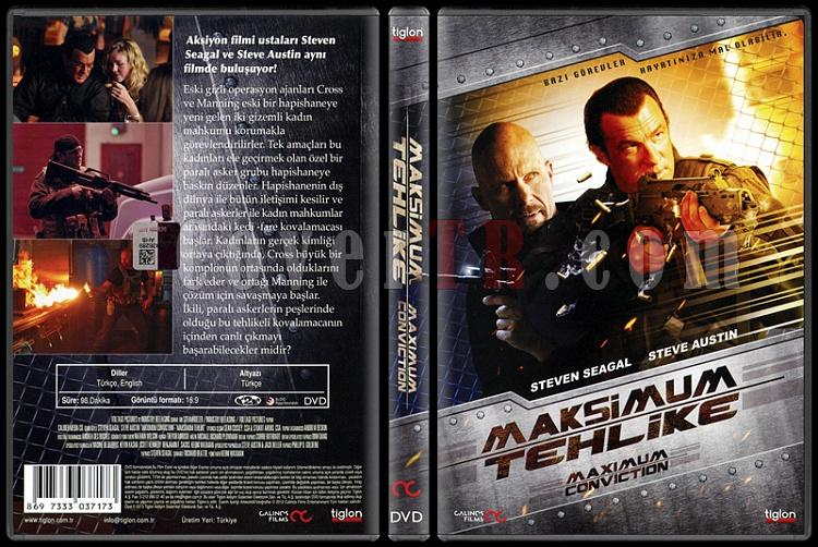 Maximum Conviction (Maksimum Tehlike) - Scan Dvd Cover - Türkçe [2010]-maximum-conviction-maksimum-tehlike-scan-dvd-cover-turkce-2010jpg