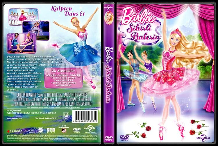 Barbie In The Pink Shoes (Barbie Sihirli Balerin) - Scan Dvd Cover - Türkçe [2013]-barbie-pink-shoes-barbie-sihirli-balerin-scan-dvd-cover-turkce-2013jpg