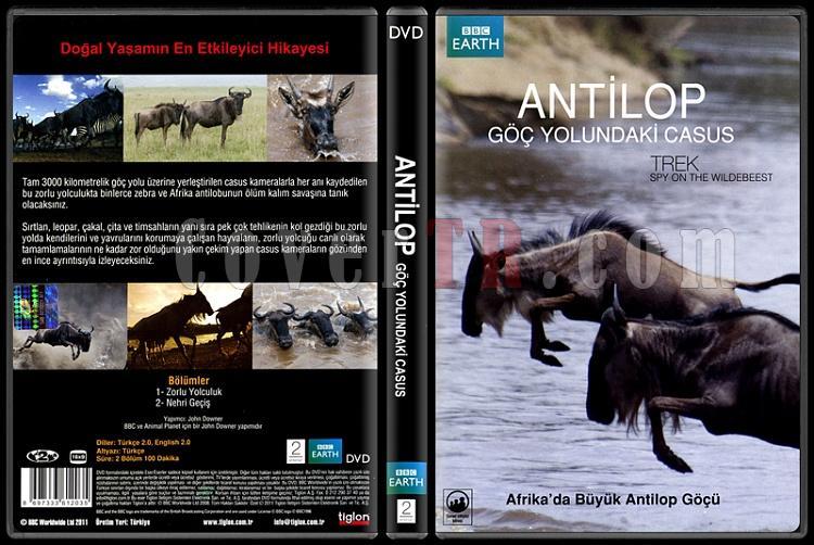 Trek Spy On The Wildebeest (Antilop Göç Yolundaki Casus) - Scan Dvd Cover - Türkçe [2007]-trek-spy-wildebeest-antilop-goc-yolundaki-casus-scan-dvd-cover-turkce-2007jpg