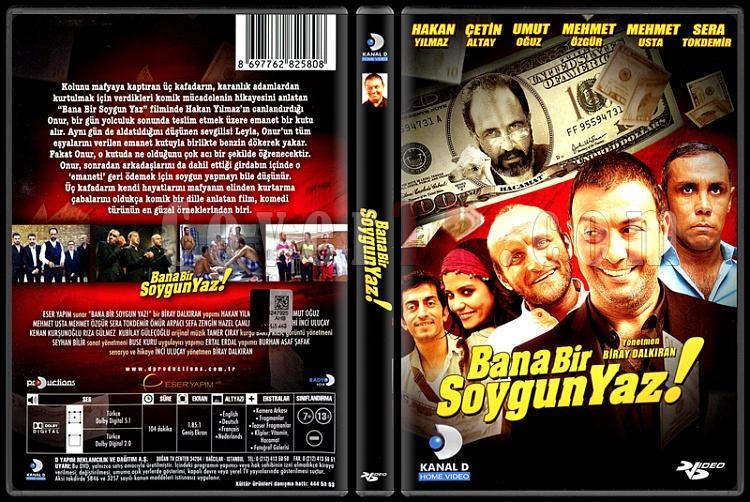 Bana Bir Soygun Yaz - Scan Dvd Cover - Türkçe [2012]-bana-bir-soygun-yaz-scan-dvd-cover-turkce-2012jpg