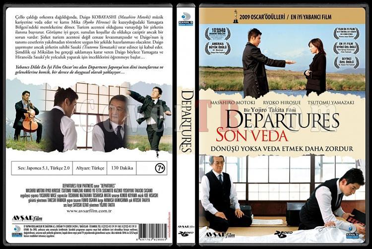 Departures (Son Veda) - Scan Dvd Cover - Türkçe [2008]-departures-son-vedajpg