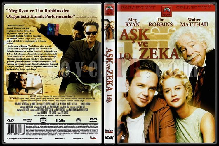I.Q. (Aşk ve Zeka) - Scan Dvd Cover - Türkçe [1994]-iq-ask-ve-zeka-scan-dvd-cover-turkce-1994jpg