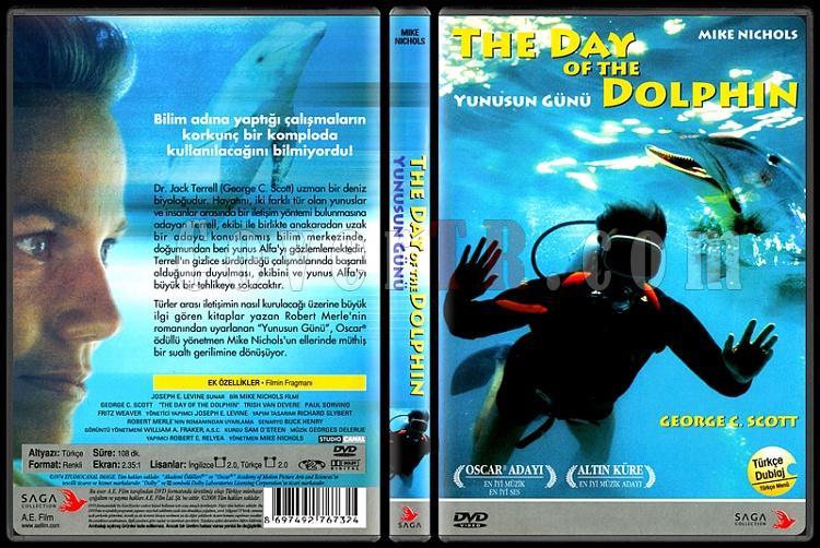The Day of the Dolphin (Yunusun Günü) - Scan Dvd Cover - Türkçe [1973]-day-dolphin-yunusun-gunu-scan-dvd-cover-turkce-1973jpg