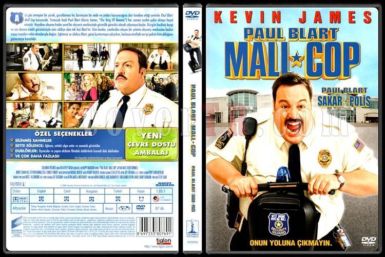Paul Blart Mall Cop Sakar Polis Scan Dvd Cover Turkce 2009 Covertr