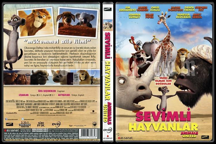Animals United (Sevimli Hayvanlar) - Scan Dvd Cover - Türkçe [2010]-animals-united-sevimli-hayvanlar-scan-dvd-cover-turkce-2010jpg