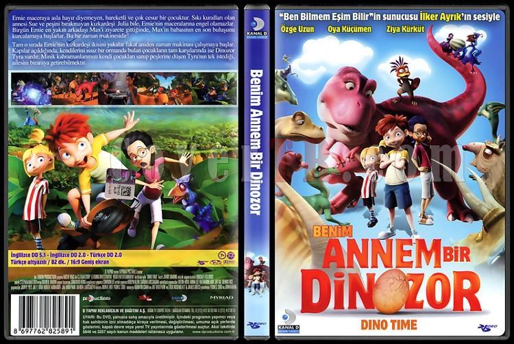 Dino Time (Benim Annem Bir Dinozor) - Scan Dvd Cover - Türkçe [2012]-dino-time-benim-annem-bir-dinozor-scan-dvd-cover-turkce-2012jpg