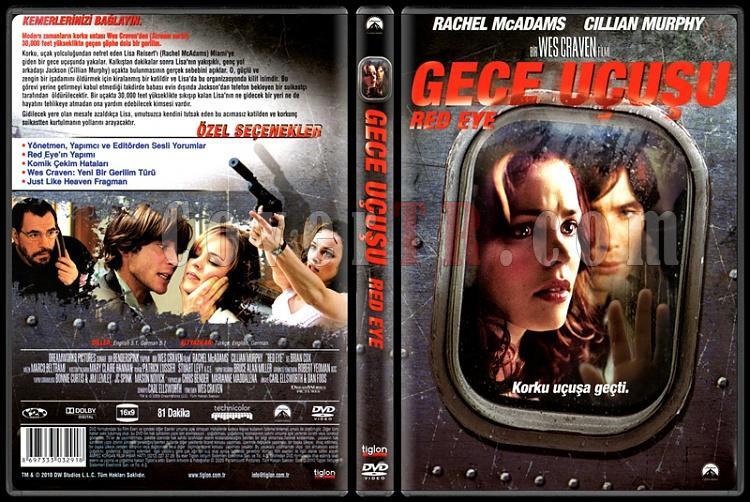 Red Eye (Gece Uçuşu) - Scan Dvd Cover - Türkçe [2005]-red-eye-gece-ucusu-scan-dvd-cover-turkce-2005-prejpg