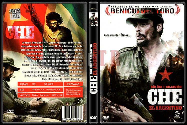 Che: Part One - The Argentine (Che: Bölüm 1 - Arjantin) - Scan Dvd Cover - Türkçe [2008]-che-el-argentino-che-bolum-1-arjantin-scan-dvd-cover-turkce-2008-prejpg