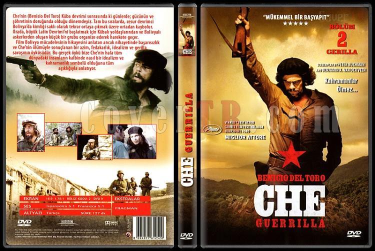 Che: Part Two - Guerilla (Che: Bölüm 2 - Gerilla) - Scan Dvd Cover - Türkçe [2008]-che-guerrilla-che-bolum-2-gerilla-scan-dvd-cover-turkce-2008-prejpg